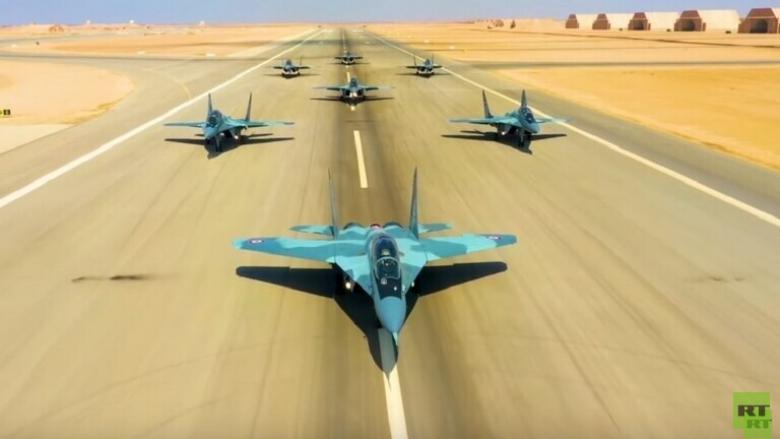 """""""قادر-2020"""".. الجيش المصري يعلن تنفيذ قواته الجوية مهام قتالية"""