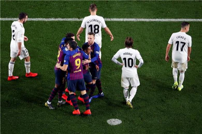حصن برشلونة يواصل صموده والتاريخ يحذر ريال مدريد