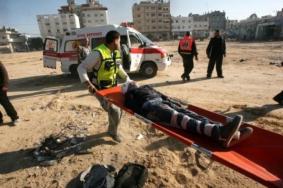 إصابة 5 مواطنين بجراح خطيرة بانفجار عرضي في خانيونس