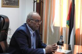 وصول وزير النقل والمواصلات إلى مقر الوزارة بغزة