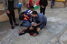 إصابات بمواجهات مع الاحتلال جنوب نابلس