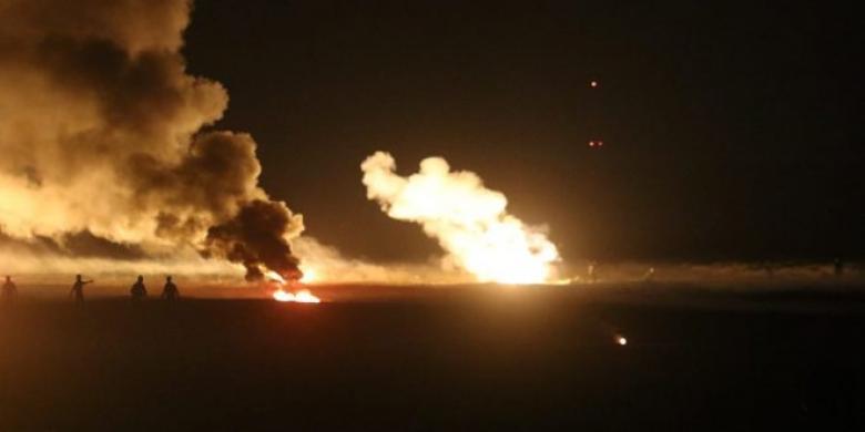 الاحتلال يكشف سبب الانفجارات في غلاف غزة