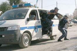 الشرطة برفح تضبط لص سرق 15 جالون زيت