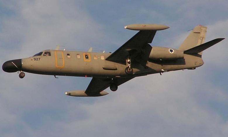 """الاحتلال يكشف عن طائرة """"قاذفة للقنابل"""""""