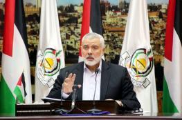 هنية يوجه رسائل هامة إلى مسؤولي الدولة اللبنانية