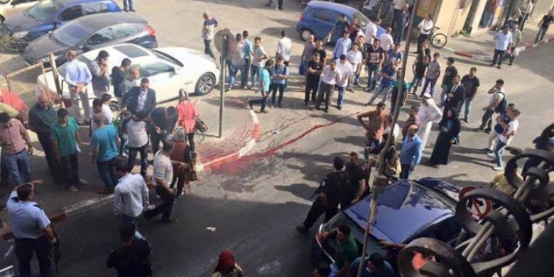 """5 إصابات في شجار بقرية """"نعلين"""" برام الله"""