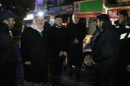 جولة ليلية لنواب التشريعي على حواجز الشرطة بغزة