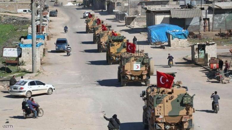 رتل عسكري هو الأضخم للقوات التركية يدخل الأراضي السورية