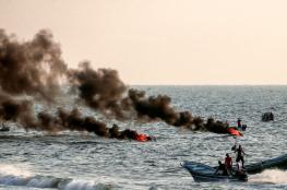 الاحتلال يعتقل فلسطينيا بتهمة المشاركة بمسيرات العودة البحرية