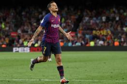 برشلونة يحسم مصير كوتينيو