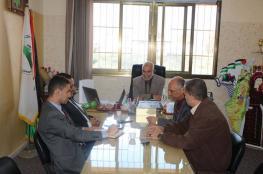 تعليم الوسطى يستقبل وفدًا من البنك الإسلامي العربي