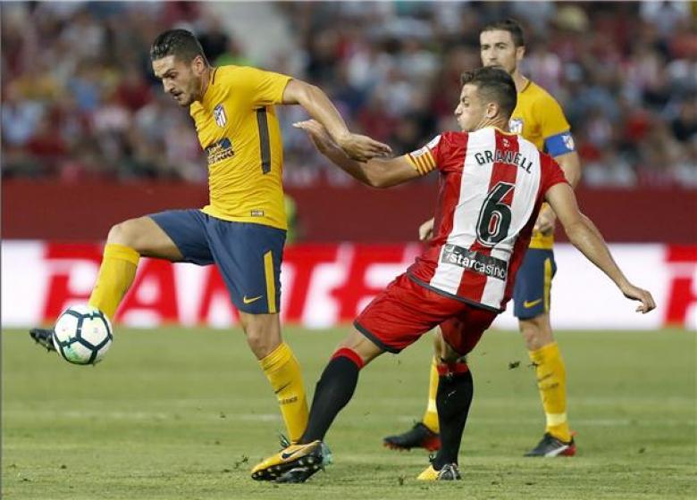 أتلتيكو مدريد ينجو من فخ الهزيمة أمام جيرونا
