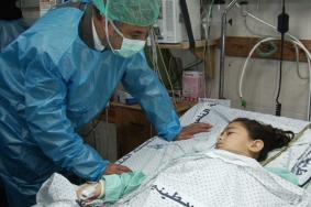 الطفلة سوار المصري شهيدة العلاج رقم (6)