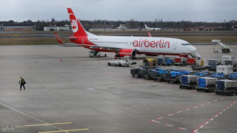 """""""إضراب الرواتب"""" يشل حركة الطيران في برلين"""