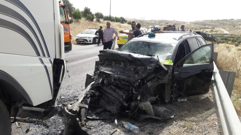 مصرع مواطن في حادث سير جنوب بيت لحم