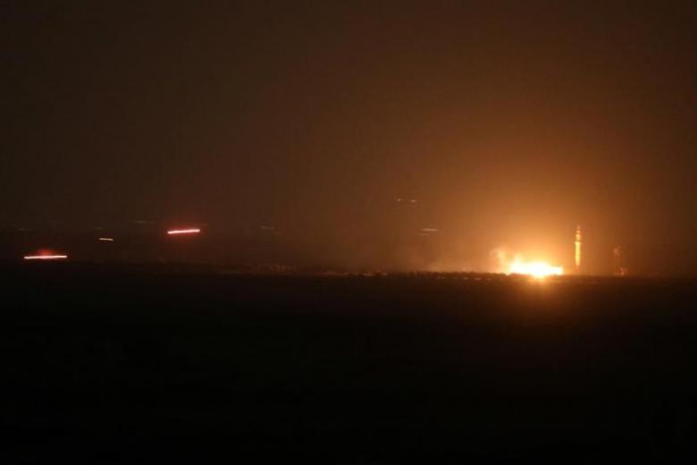 انفجار عنيف في مصفاة بانياس النفطية على الساحل السوري