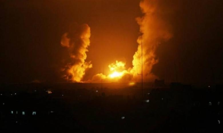 الطيران الإسرائيلي يستهدف موقعًا للمقاومة شمال القطاع