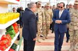 السيسي يدشّن أكبر مشروع للصوب الزراعية في الشرق الأوسط