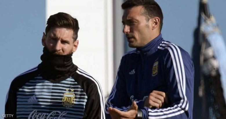 """""""علاقة خاصة"""" تربط مدرب الأرجنتين الجديد وميسي"""