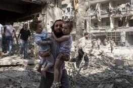 صواريخ روسيا الفراغية تقتل عشرات المدنيين بإدلب