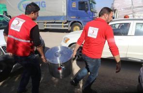 مطبخ تركي متنقل لإطعام متضرري الزلزال في العراق
