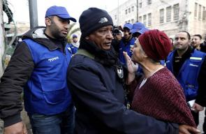 اعتداء المستوطنين على بعثة مراقبي حقوق الإنسان بالخليل