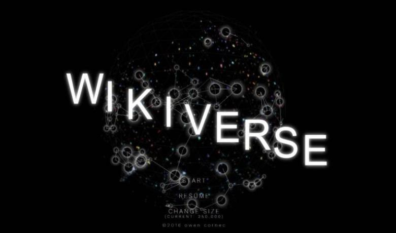 6a6789442d198 ويكيفيرس يحوّل ويكيبيديا إلى مجرة معلوماتية - فلسطين الآن