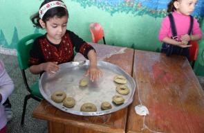 معهد الأمل للأيتام ينظم مهرجان الزيتون والأجداد بغزة