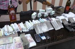 القبض على أبرز تجار المخدرات بنابلس