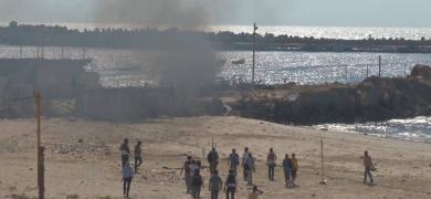 """الذكرى الثانية  لمجزرة أطفال عائلة """"بكر"""" بغزة"""