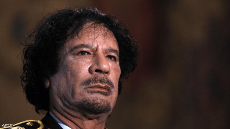 """عندما شوهد القذافي حيا """"قبل عدة أيام"""""""