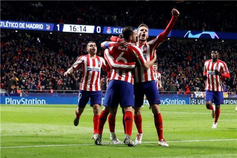 أتلتيكو مدريد يحجز مقعده في ثمن نهائي الأبطال