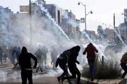 """الاحتلال يصيب عددا من طلبة """"اللبن"""" جنوب نابلس"""