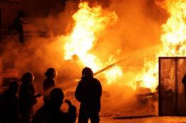 السيطرة على حريق في مبنى بريد رام الله