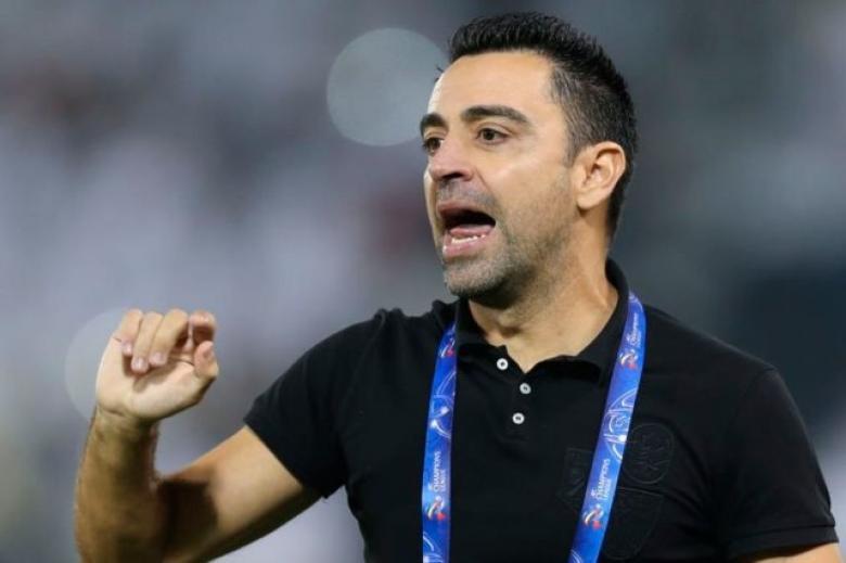 """""""قرار نهائي"""".. تشافي يحسم أمر تدريب برشلونة"""