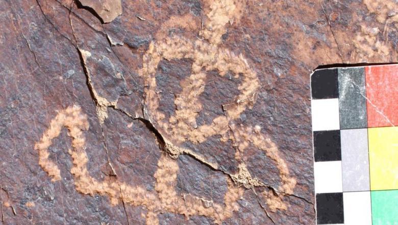 نقوش صخرية إيرانية عمرها قد يصل إلى 40 ألف عام