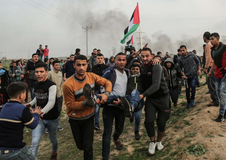 الاحتلال يستخدم طائرة مسيرة ويختبر أسلحة على حدود غزة