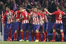 أتلتيكو مدريد يصعد لثمن نهائي دوري الأبطال