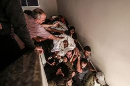 إحصائية الشهداء والإصابات خلال يومي العدوان على غزة