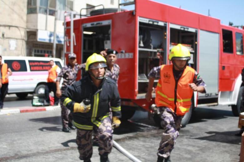 الدفاع المدني: تعاملنا مع 297 حادث إطفاء وإنقاذ خلال أسبوع
