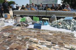 الداخلية: المخدرات المضبوطة في يناير تساوي مضبوطات عام 2016