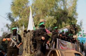 عرض مهيب لكتائب القسام في الشجاعية