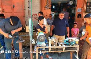 مهنة السنّان تستعيد بريقها قبيل عيد الأضحى بغزة