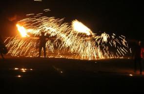 وحدة الإرباك الليلي على حدود قطاع غزة