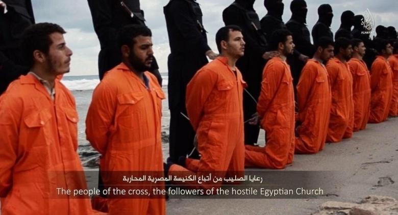العثور على جثث مصريين أقباط قتلوا في ليبيا