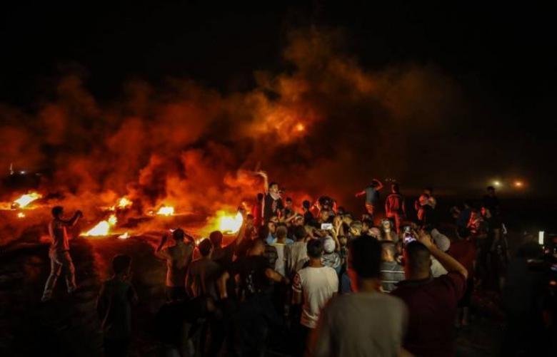 """""""الإرباك الليلي"""" يتواصل لليوم الثاني شرقي قطاع غزة"""