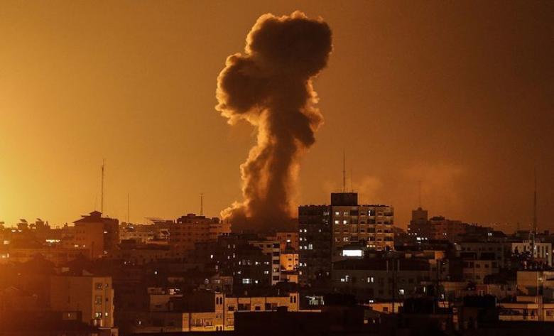 جيش الاحتلال يصدر بيانه حول قصف أحد المواقع قطاع غزة