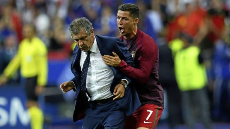مدرب البرتغال يرسل تحذيراً لكارهي رونالدو