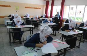 التعليم والتشريعي يتفقدان امتحانات الثانوية العامة بغزة