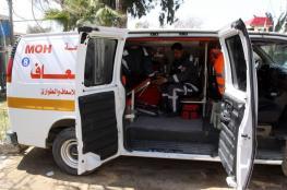 إصابة طفل دهسته سيارة ولاذت بالفرار في غزة